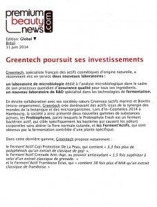 15-GREENTECH expansion-Premium Beauty News-11 June 2014
