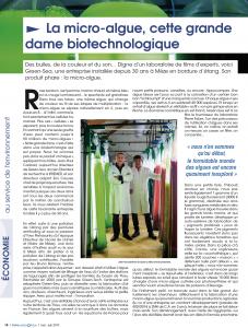 Greensea notre AGGLOPOLE Magazine 2019