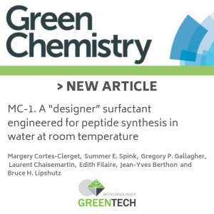 article scientifique chimie greentech 2019