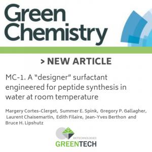 article scientifique chimie greentech 2019