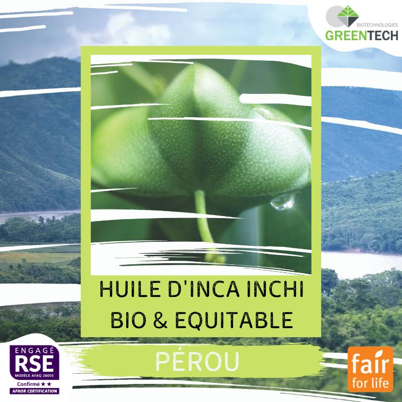 Nuestros proveedores históricos - #3 : Peru, Aceite de Inca Inchi orgánico y de comercio justo