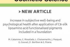 International of Cosmetic Science : Increase in subjective well-being and psychological health after application of C8-silk lipoamino acid functionalised pigments included in a foundation