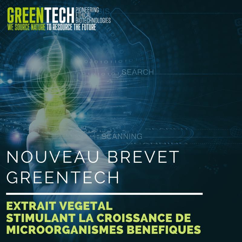 nouveau brevet Greentech