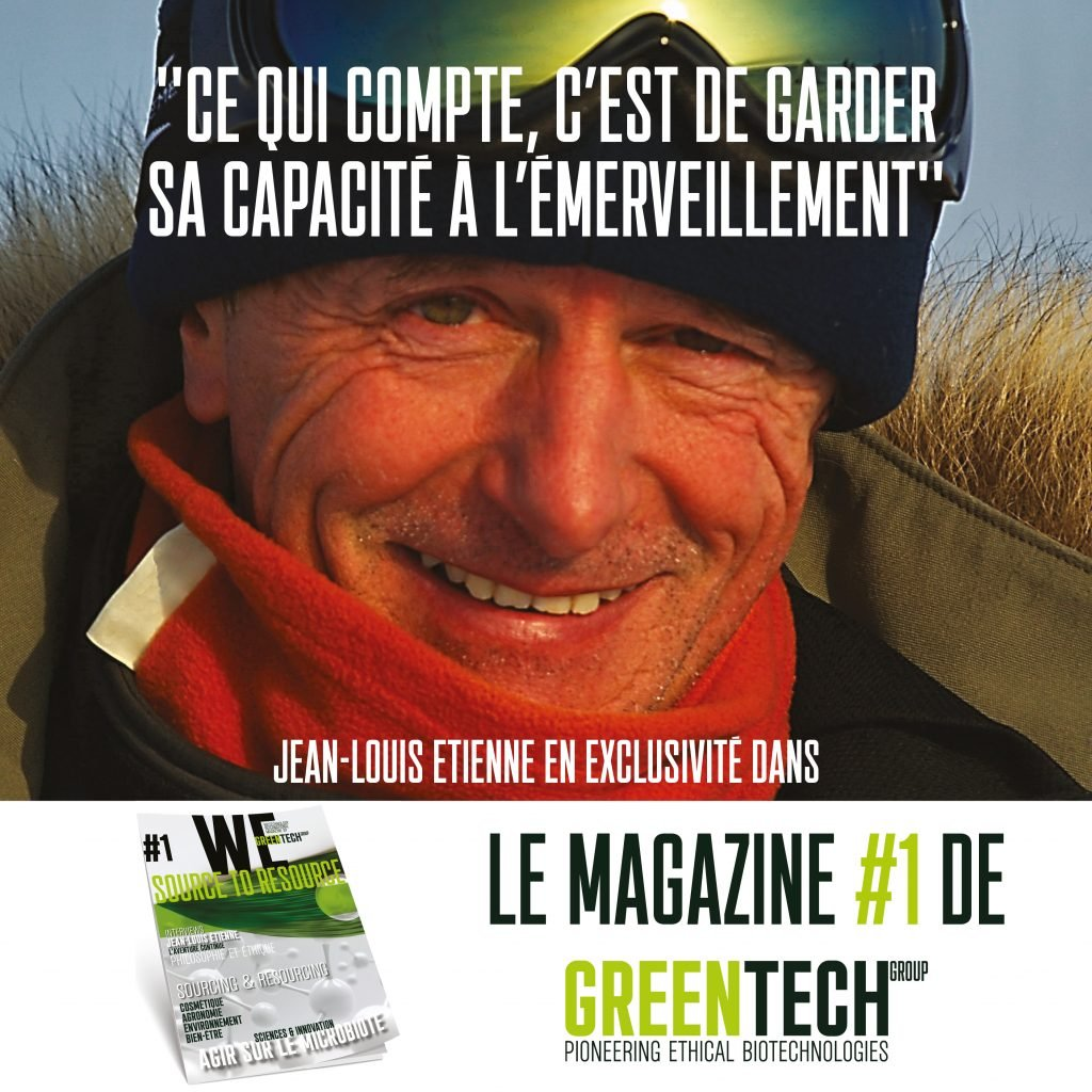 Revista GREENTECH # 1: entrevista exclusiva de Jean-Louis Etienne