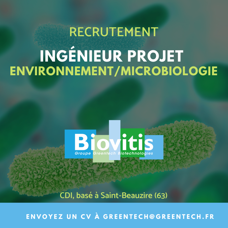 BIOVITIS GREENTECH RECRUTEMENT