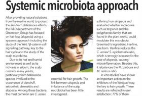Greentech hairiline systemic microbiota approach