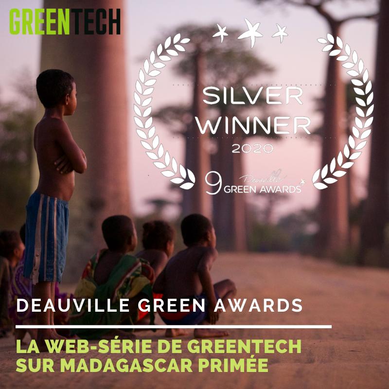 Greentech's new web series wins Deauville Green Award