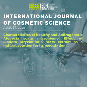 Greentech International journal of cosmetic scientific 2020