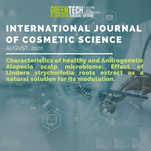 Greentech International journal of cosmetic scientific 2020
