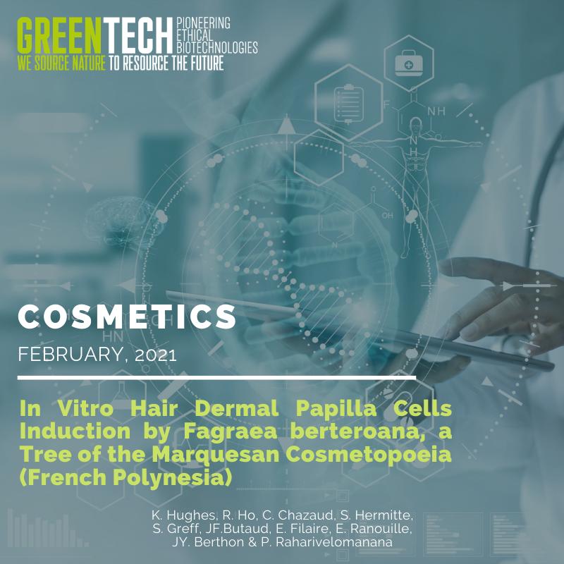 Article scientifique greentech 2021
