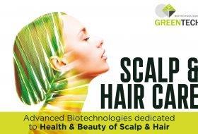 Greentech scalp hair care