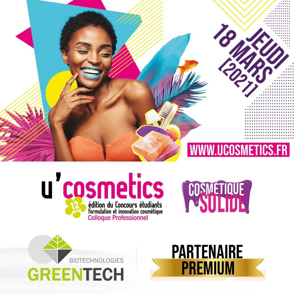 Greentech premium partner of U'Cosmetics 2021