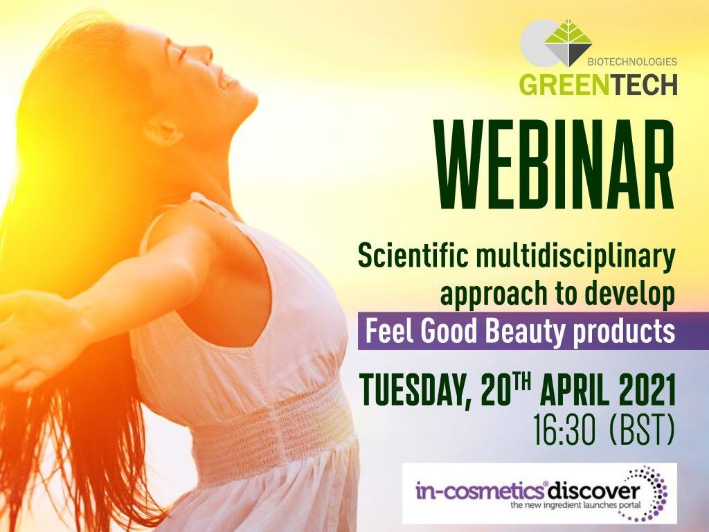 Webinar Greentech - IN-Cosmetics Discover - Feel Good Beauty