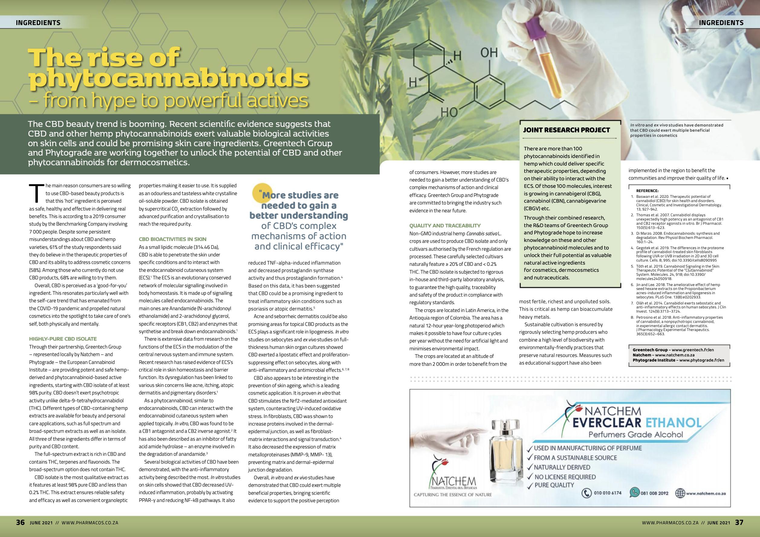 Article CBD greentech